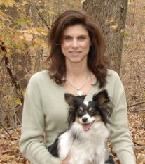 Amy and Artie, the tri-color Papillon
